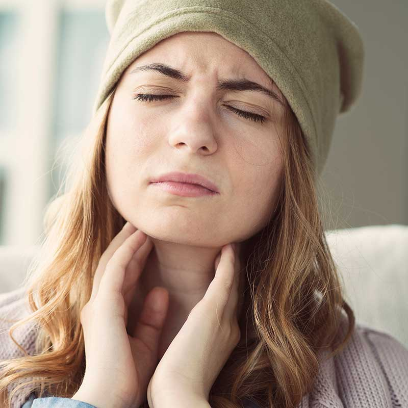 Why do I keep getting throat infections?